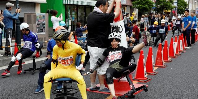 """TsuyoshiTahara, creator of the race, said he """"wanted to create something no one has made before."""""""