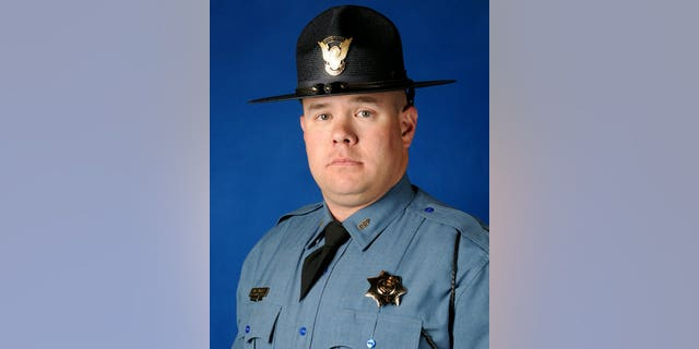 The trooper struck was identified as William Moden