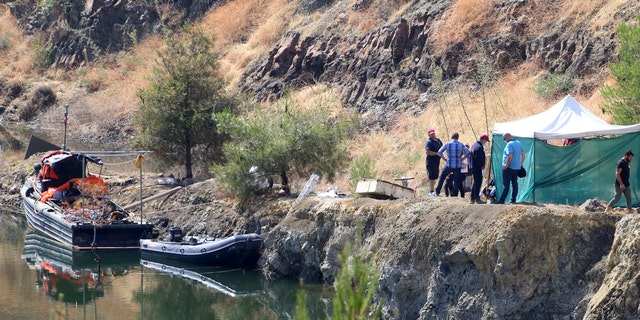 Divers searching the bottom of a lake in Cyprus discovered the remains of what authorities believe to be the remains of a 6-year-old girl that a serial killer has confessed to killing.