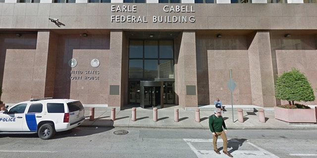 Shots were fired Monday morning outside of the Earle Cabell Federal Building in downtown Dallas.