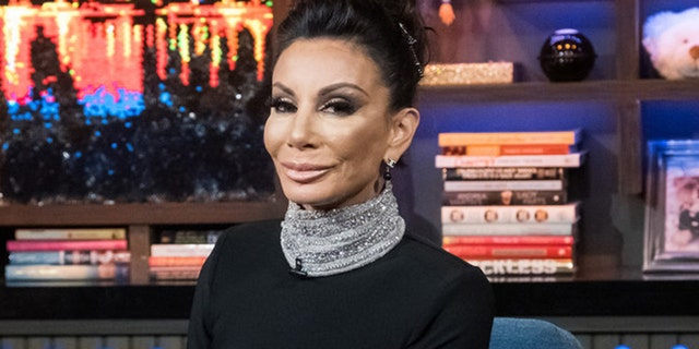 """Danielle Staub as a guest on """"Watch What Happens Live With Andy Cohen."""""""