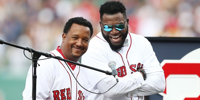 Martinez and Ortiz were teammates for two seasons in 2003 and 2004.(Getty)