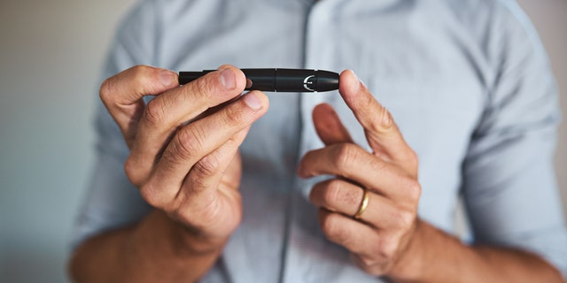 Losing weight and managing his diabetes can improve testosterone levels.