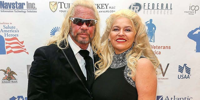 "Duane ""Dog the Bounty Hunter"" Chapman and Beth Chapman attend the Vettys Presidential Inaugural Ball at Hay-Adams Hotel on Jan. 20, 2017 in Washington, D.C. Beth died at 51 in June 2019."