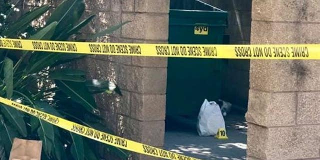 A newborn baby was found in a dumpster in Stock Calif. The temperatures in the area were estimated to exceed 100 degrees.