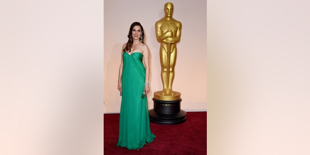 Taya Kyle attends the 87th Annual Academy Awards at Hollywood & Highland Center on February 22, 2015, in Hollywood, California. (Photo by Steve Granitz/WireImage)
