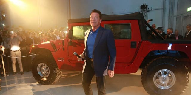 Austrian engineering firm Kreisel built an electric Hummer H1 for Arnold Schwarzenegger in 2017