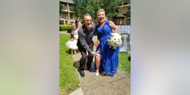 Karen and Andrew Wilson, who were married on June 22, 2019,reconnected after 45 years apart.