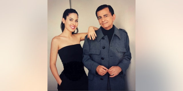 Casey Kasem with his daughter Kerri Kasem. — Courtesy of Kerri Kasem