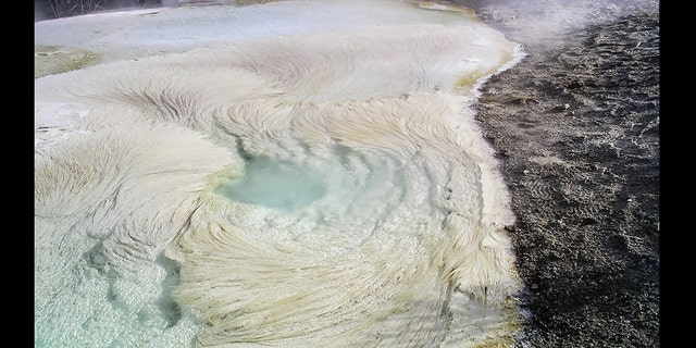 Spring System at Yellowstone. (Credit: Bruce Fouke)