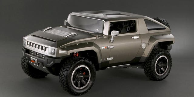 Hummer unveiled the HX concept in 2008, shortly before the brand went out of business.