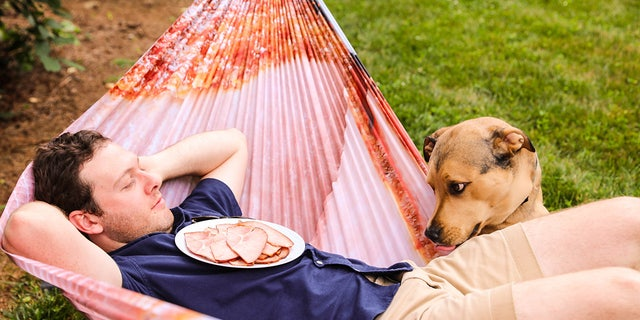 """""""Who wouldn't wish to take a summer snooze wrapped in hulk cut of ham?"""" reps for a food tradesman wondered"""