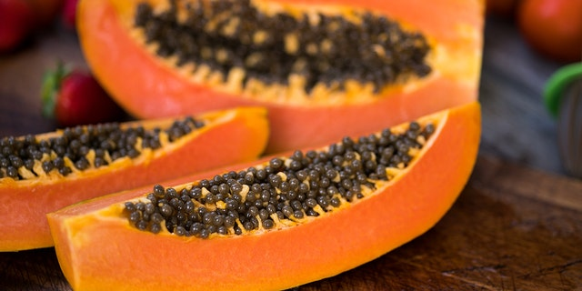 Whole, fresh papayas from Mexico and sold in Connecticut, Massachusetts, New Jersey, New York, Pennsylvania, and Rhode Island are the likely source of the outbreak.
