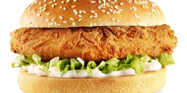 """The new faux-chicken offering, called """"The Imposter,"""" will feature a Quorn chicken fillet, a layer of vegan mayo and iceberg lettuce on a seeded bun."""