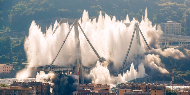 Westlake Legal Group italy_bridge1 Ruins of bridge in Italy demolished nearly a year after deadly collapse Paulina Dedaj fox-news/world/world-regions/italy fox-news/world/disasters fox news fnc/world fnc b628cdb2-963d-5d76-961a-d41f04e9113a article