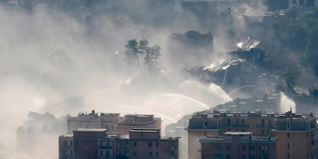Westlake Legal Group italy_bridge2 Ruins of bridge in Italy demolished nearly a year after deadly collapse Paulina Dedaj fox-news/world/world-regions/italy fox-news/world/disasters fox news fnc/world fnc b628cdb2-963d-5d76-961a-d41f04e9113a article