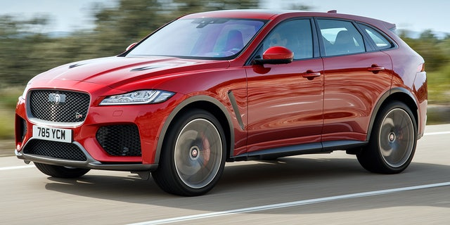 2019 Jaguar F Pace Svr Jag S First Monster Truck Fox News