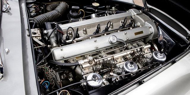 詹姆斯邦德007阿斯顿马丁DB5值得数百万人参加拍卖 - 福克斯新闻 -jb-engine