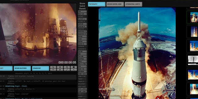 """Ben Feist's new website, """"Apollo 11 in Real Time,"""" replays the first moon landing mission 50 years later."""