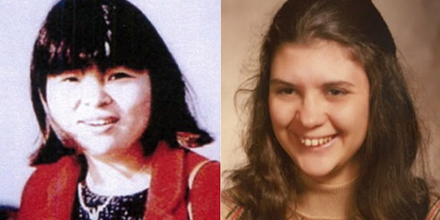 Rasmussen has been linked to the murder and disappearance of two former girlfriends Eunsoon Jun (left) and Denise Beaudin (right).