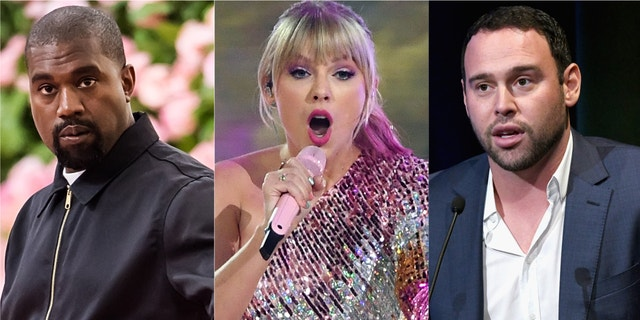 "Taylor Swift blasted Scooter Braun, Kanye West's former manager, after Braun purchased Big Machine from founder Scott Borchetta. Braun, who Swift accused of ""manipulative bullying,"" now owns the masters to Swift's first six albums."