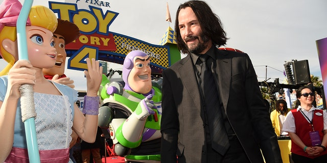 Keanu Reeves also starred in the third episode of