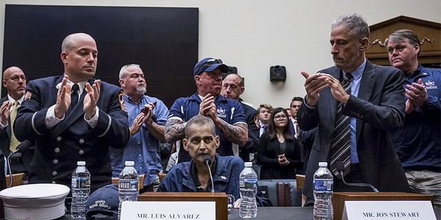 Westlake Legal Group luis-alvarez Hero 9/11 first responder with cancer dies at 53; testified to Congress with Jon Stewart Robert Gearty fox-news/us/us-regions/northeast/new-york fox-news/us/terror/september-11 fox news fnc/us fnc eae09c1e-1e69-5aa8-99ed-49d4184f98df article