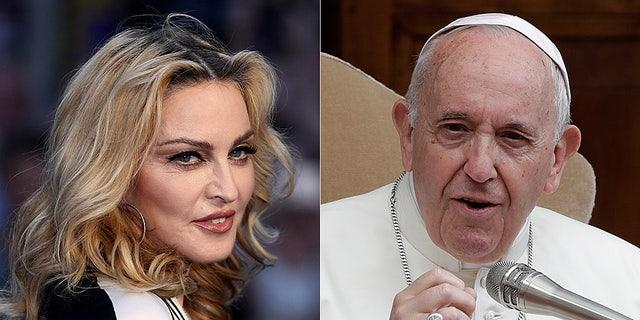 Madonna quer se encontrar com o Papa Francisco para discutir o aborto, porque ela acredita que Jesus apoiaria o direito de uma mulher escolher.