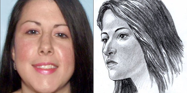 Jessica Ashley Manchini, who was killed in a suitcase along a Georgia highway three years ago. Police released a forensic illustration in 2016 of what the woman might have looked like based on the remains.