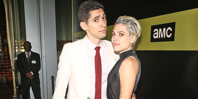 Screenwriter Max Landis and Ani Baker attend AMC Networks 69th Primetime Emmy Awards after-party celebration at BOA Steakhouse on Sept. 17, 2017 in West Hollywood, California. Since splitting from Landis, Baker has accused him of sexual misconduct.