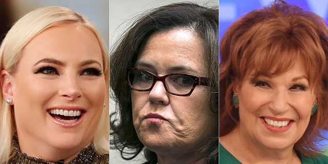 "Rosie O'Donnell thinks that Meghan McCain should respect ""living legend"" Joy Behar."