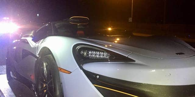 New McLaren impounded minutes after driver leaves dealership