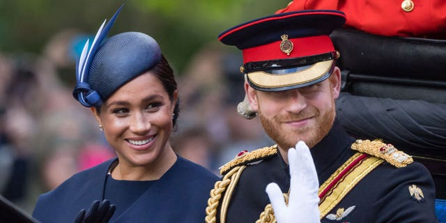 Why Meghan Markle and Prince Harry are still using their royal monogram