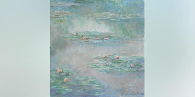 Claude Monet's Nymphéas (1908), oil on canvas.