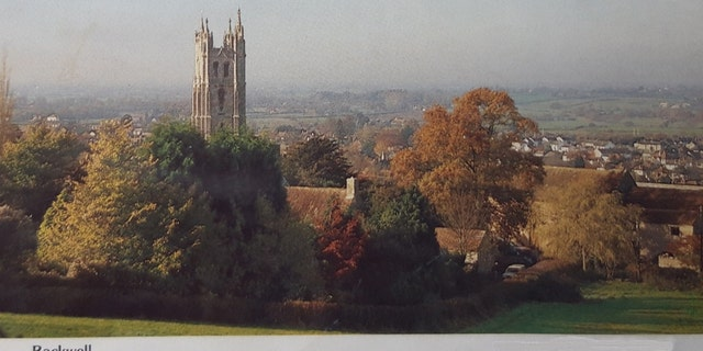 "This postcard of St. Andrew's Church from the direction of Backwell Hill in Bristol, England may be ""signficant"" for investigators, as it shows where Shelley Morgan was heading for on the day of her murder."