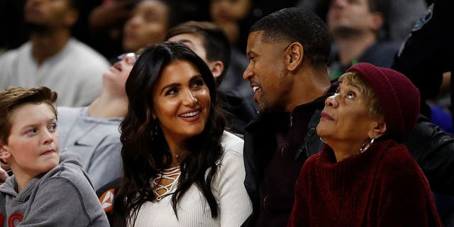 Molly Qerim Rose and Jalen Rose. (Photo by Gregory Shamus/Getty Images)