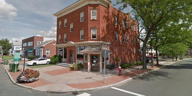 A Connecticut restaurant, pictured, was closed late last month after authorities discovered a dead body upstairs.
