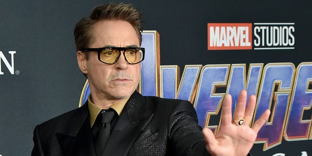"Robert Downey, Jr., attends the world premiere of Walt Disney Studios Motion Pictures ""Avengers: Endgame"" at Los Angeles Convention Center on April 22, 2019."