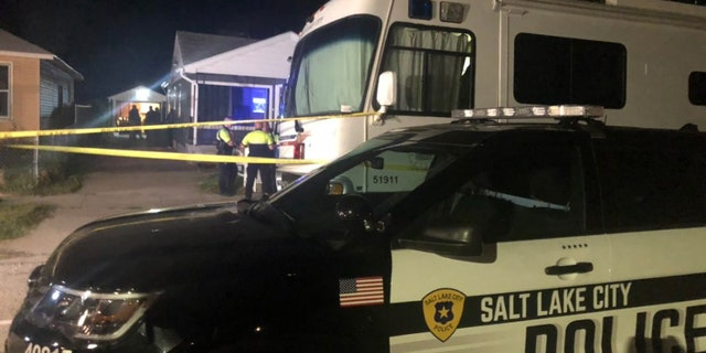 The Salt Lake City police said they were serving a search warrant in a house.