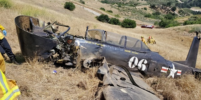 The pilot of a single-engined Nanchang CJ-6A aircraft of 1979 was killed when the plane crashed north on Saturday in Los Angeles.