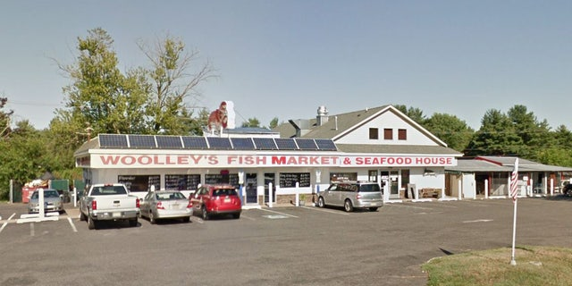 A street view image of Woolley's Seafood Market in Freehold.