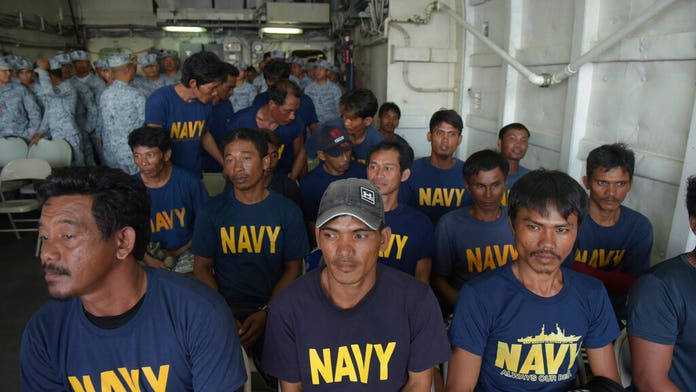 Filipino fishing boat sunk by suspected Chinese vessel in the South China Sea
