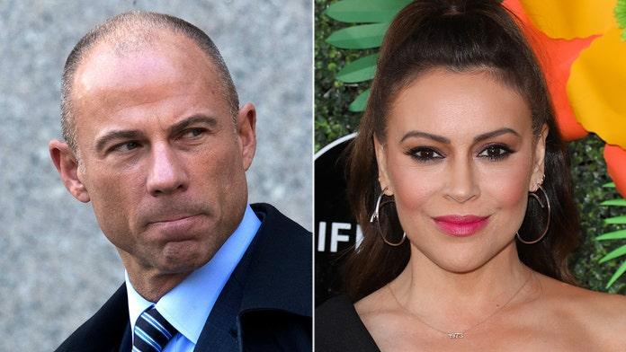 Michael Avenatti labels Alyssa Milano a 'disgusting hypocrite' after tweet about his November arrest