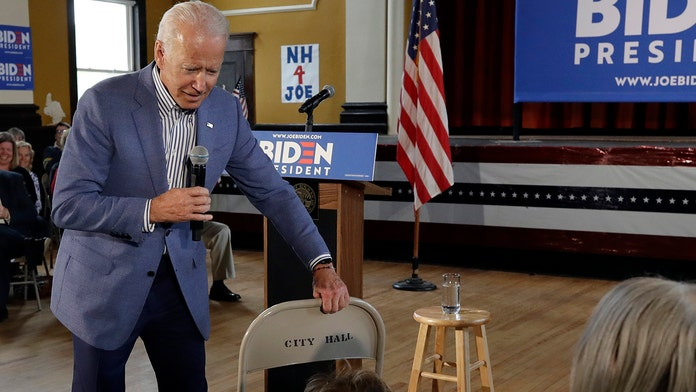 Biden jokes about inappropriate touching claims during town hall, sparks laughs