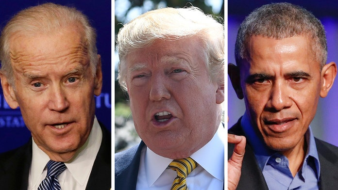 Trump hammers Biden, questions if 'big secret' is behind why Obama hasn't endorsed his ex-VP