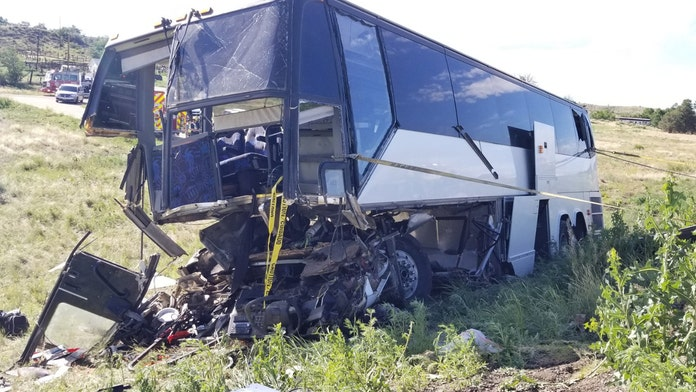 Colorado bus carrying church group kills 2, leaves 13 injured