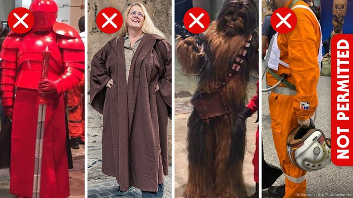 Disney clarifies dress code for Star Wars: Galaxy's Edge: No full character suits