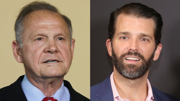 Donald Trump Jr. mocks Roy Moore after campaign announcement, reigniting feud