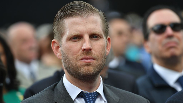Restaurant group responds after employee is accused of spitting on Eric Trump, says she's been 'placed on l...