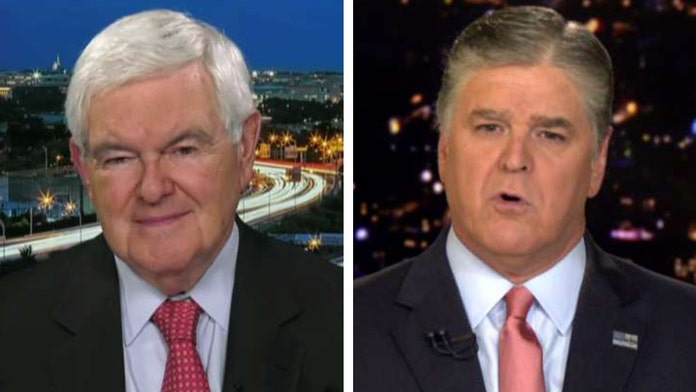 Gingrich: Trump wants to 'keep America great,' some Dems 'want to keep America weak'